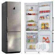 Midea 294 Litres Double Door Refrigerator HD 390 | Kitchen Appliances for sale in Lagos State, Ikeja