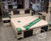 6x6 Bedframe With Imported Orthopedic Spring Mattress | Furniture for sale in Lagos State, Ojo