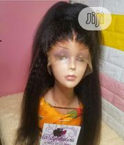 Women's Kinky Customised Human Hair Wig   Hair Beauty for sale in Lagos State, Lagos Mainland