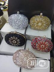 Lovely Ladies Handy Stone Clutch | Bags for sale in Lagos State, Gbagada