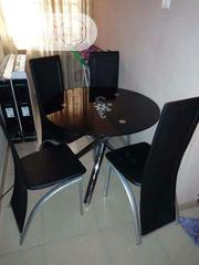 Round Dining Table By 4   Furniture for sale in Lagos State, Ojo