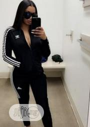 Original 2pcs Adidas Tracksuit Designers Clothes for Women | Clothing for sale in Lagos State, Lagos Island