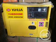 Yihua YH6500SE Diesel Generator 7.5kva | Electrical Equipments for sale in Lagos State, Ojo