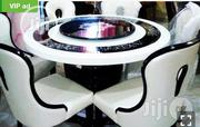Round Mable Dinning Table By 6 | Furniture for sale in Lagos State, Ojo