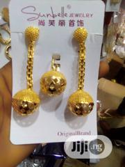 Gold Long Earring With Pendant | Jewelry for sale in Lagos State, Gbagada