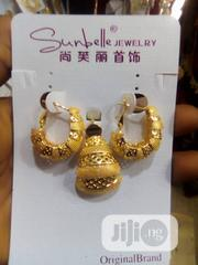 Portable Round Earring With Pendant | Jewelry for sale in Lagos State, Gbagada