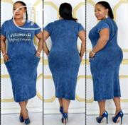 Women Light Jean Gown | Clothing for sale in Lagos State, Alimosho