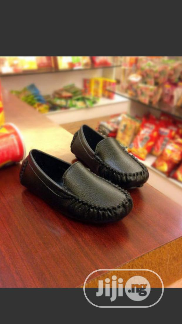 Cute Black Loafers for Boys