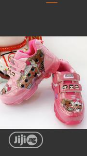 Lovely Luminous Pink Sneakers For Girls | Children's Shoes for sale in Lagos State, Egbe Idimu