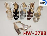 Lovely Ladies Heel Sandals | Shoes for sale in Lagos State, Gbagada