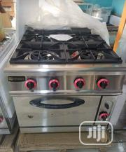 Higher Quality Industrial 4burners Gas Cookers With Oven | Restaurant & Catering Equipment for sale in Lagos State, Ojo