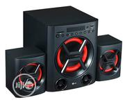 New LG Audio Set Powerful Bass With Bluetooth Aux In 2 Years Warranty | Audio & Music Equipment for sale in Lagos State, Ikeja