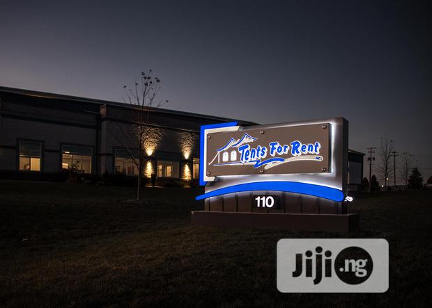 Archive: Display Signage With LED Lights