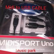 Midi To Usb Cable | Accessories & Supplies for Electronics for sale in Lagos State, Oshodi-Isolo
