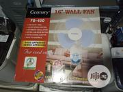 """Century 16"""" Wall Fan FB-40D 