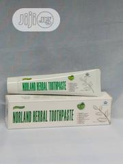 Norland Herbal Toothpaste For Tooth Infection, Remove Stain, Whitening | Vitamins & Supplements for sale in Lagos State, Surulere