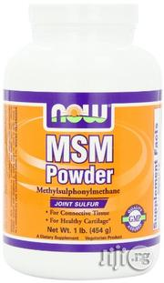 Now Foods MSM Pure Powder, 1-Pound | Vitamins & Supplements for sale in Lagos State