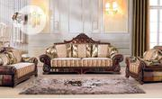 Imported Fabric/Leather Royal Sofa.   Furniture for sale in Lagos State, Ikeja