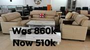 Imported Leather Sofa. | Furniture for sale in Lagos State, Ikeja