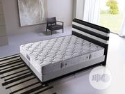 6X7 EKOL Storage Bed Set (Leather) + 2 Side Drawers + Head Board | Furniture for sale in Lagos State, Ajah