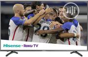 Hisense Roku TV 43inches Class R7E 4K Uhd Roku TV With Hdr (43R7080E) | TV & DVD Equipment for sale in Lagos State, Ojo