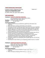 Computing & IT CV | Computing & IT CVs for sale in Abuja (FCT) State, Mpape