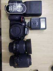 Nikon D3300 + 18-55mm + 55-250mm+ 2 Speedlight | Accessories & Supplies for Electronics for sale in Lagos State, Gbagada
