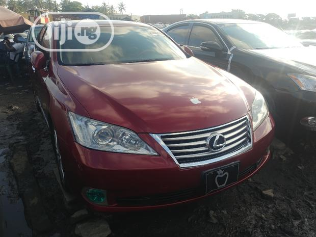 Archive: Lexus ES 2010 350 Red