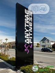 3D Signage And Pylon Sign With Digital Neon Led Light Displays | Manufacturing Services for sale in Abuja (FCT) State, Garki II