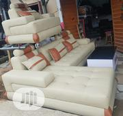 Elegant L Shape and Single With Center Table | Furniture for sale in Lagos State, Amuwo-Odofin