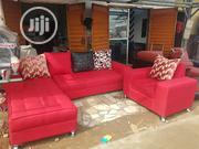 6 Seaters L Shape With Single And Throw Pillows | Home Accessories for sale in Lagos State, Ifako-Ijaiye