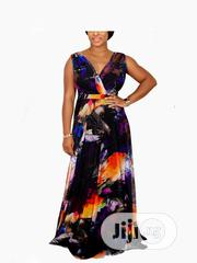 Quality And Elegant Ladies Multi-colour Armless Gown | Clothing for sale in Lagos State, Ojodu