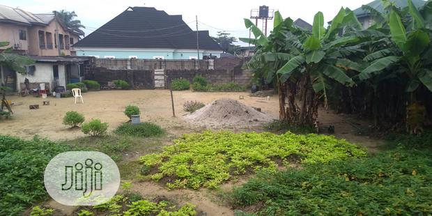 11⁄3 Plot of Land at Eagle Island, Port Harcourt for Sale
