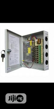 12V 9-way CCTV Power Box / Power Supply Distribution Panel (12V 10A) | Accessories & Supplies for Electronics for sale in Lagos State, Ikeja