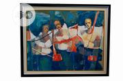 Special Outing Oil On Canvas 100 X 80cm | Arts & Crafts for sale in Lagos State, Surulere