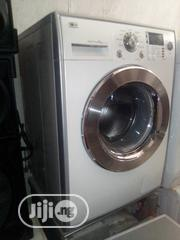 LG 8kg Wash And Spin Washing Machine Wine And Silver | Home Appliances for sale in Lagos State, Ajah
