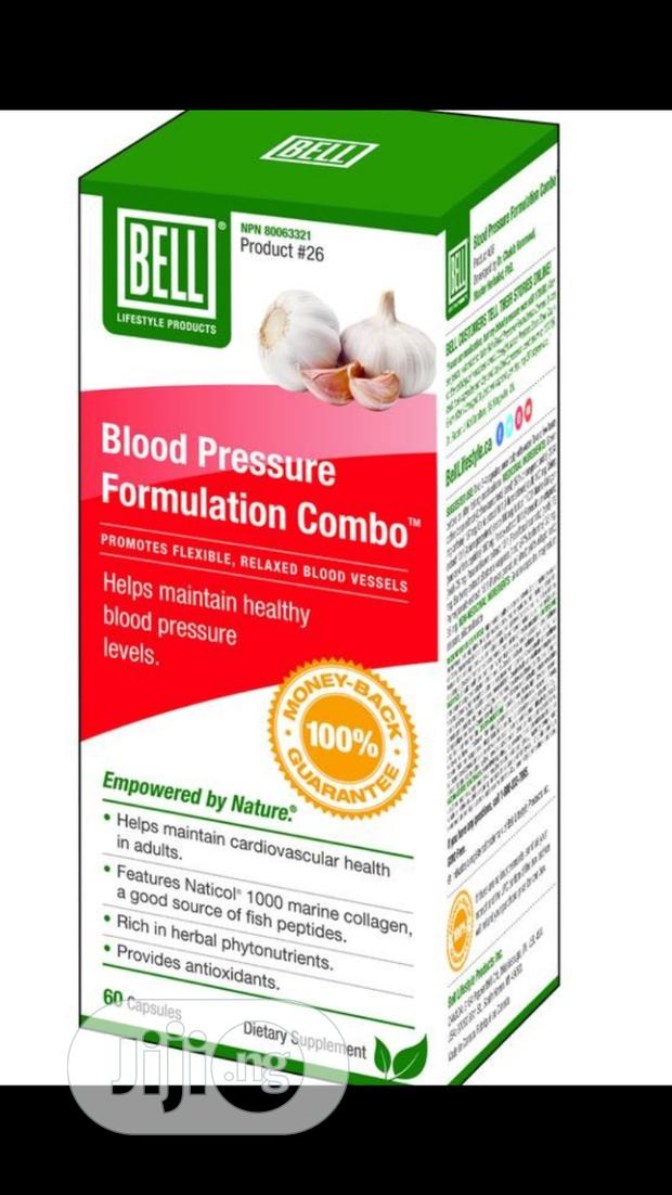 Blood Pressure Formulation Combo ™-for Flexible, Relaxed Blood Vessels