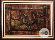 Down to Earth Mixed Media Art Paint Work 95 by 70cm | Arts & Crafts for sale in Lagos State, Surulere