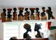 African Women Mixed Media On Durable Woodwork 50cm By 20cm. | Arts & Crafts for sale in Lagos State, Surulere
