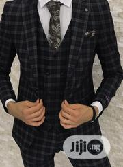 Italian Stripe 3piece Men's Suits   Clothing for sale in Lagos State, Lagos Island