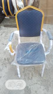 Banquet Chair With Arm (Blue)   Furniture for sale in Lagos State, Ojo