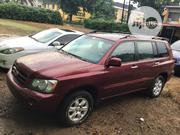 Toyota Highlander 2003 Red | Cars for sale in Lagos State, Mushin