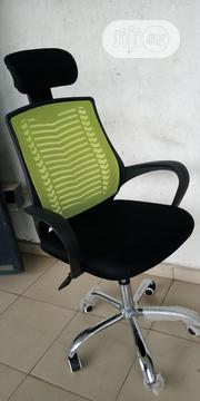 Mesh Office Chair With Headrest | Furniture for sale in Lagos State, Amuwo-Odofin