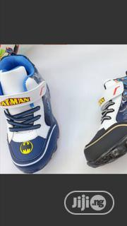 High Quality Batman Hi Top Sneakers With Light For Kids | Children's Shoes for sale in Lagos State, Egbe Idimu