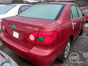 Toyota Corolla 2007 LE Red