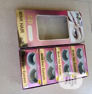 Mink Hair Eyelashes   Makeup for sale in Lagos State, Ojo