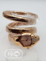 Original Just Cavalli Gold Plated Bangle Wristwatch   Jewelry for sale in Lagos State, Lagos Island