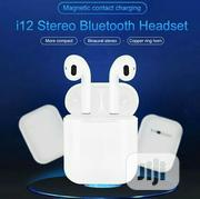 I12 TWS Earphone Upgraded Version | Headphones for sale in Lagos State, Maryland