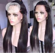 18 Inches Human Hair With Frontal | Hair Beauty for sale in Lagos State, Ikeja
