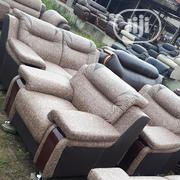 Brand New Home Made Sofa With Good Quality Leather.   Furniture for sale in Lagos State, Ojo
